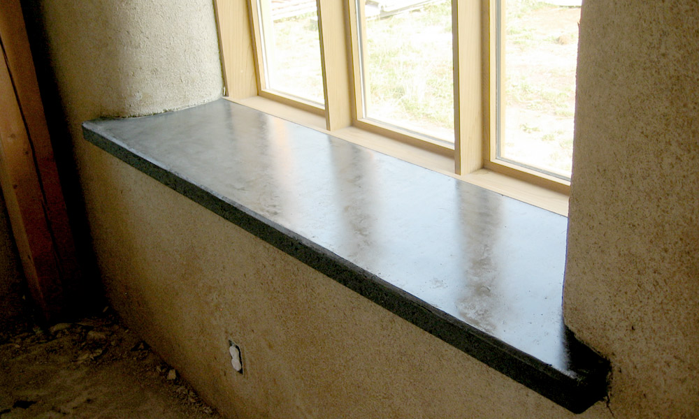 Window Sills And Other Details Molded Stone