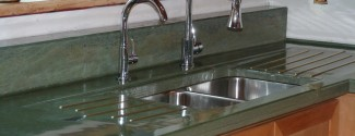 Concrete Countertop Evergreen 2